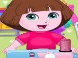 Costurar vestido da Dora
