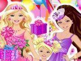Barbie e irmãs roupas de aniversário