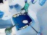 Cuidar dos dentes do Marshmallow