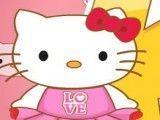Pintar rosto da Hello Kitty