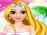 Rapunzel penteado da noiva