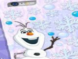 Decorar case iphone Frozen