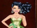 Barbie vestir roupas de princesas