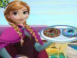 Princesa Anna receita de donuts