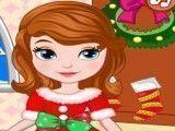 Princesa Sofia roupas de natal