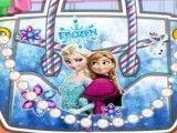 Bolsa decorada da Frozen