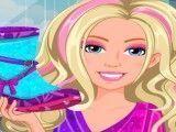 Bota da Barbie decoração