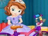 Bicicleta da princesa Sofia