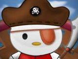 Vestir Hello Kitty Pirata