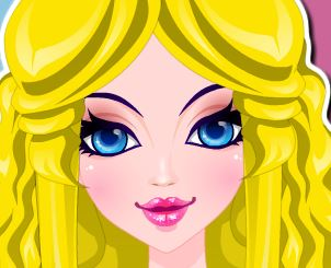 Cabeleireira de princesa