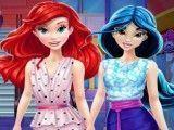 Jasmine e Ariel compras de roupas