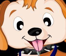 Cachorro no pet shop cuidar banho e dentes