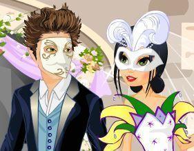 Casamento no baile de máscaras