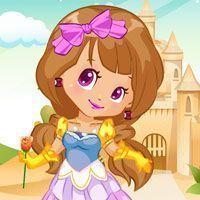 Vestir roupas na princesinha