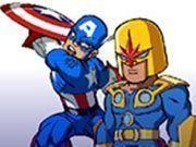 Super herói corrida
