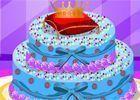 Decorar bolo da Cinderela