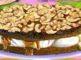 Fazer bolo de caramelo com castanha