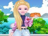 Barbie decorar jaqueta