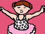 Colorir bailarina