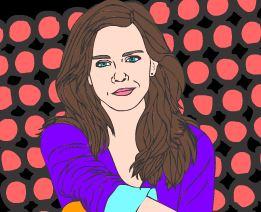 Colorir desenho da Emma Watson