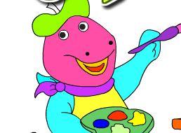 Colorir Dino