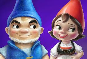 Colorir Gnomeu e Julieta