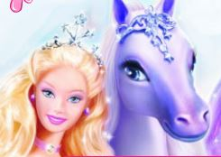 Colorir imagens da Barbie