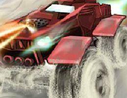 Corrida de carro tanque