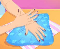 Cortar e pintar as unhas
