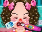 Cuidar da bebê doente