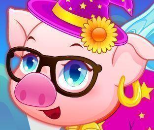 Cuidar do porco e enfeitar