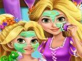 Rapunzel mãe e filha spa
