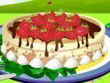 Decoração do bolo do piquenique