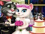 Tom e Angela decoração do casamento