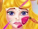 Limpeza facial da Aurora