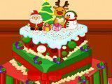 Anna Frozen bolo de natal