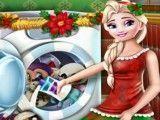 Lavar brinquedos de natal Elsa