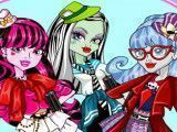 Monster High roupas escolar
