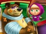 Masha e Bear no hospital
