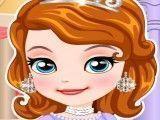 Princesa Sofia tratamento facial no spa