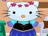 Hello Kitty roupas de princesa