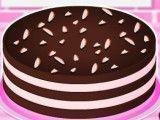 Fazer torta de chocolate com creme