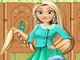 Rapunzel roupas do escritório