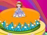 Princesa Sofia decorar bolo