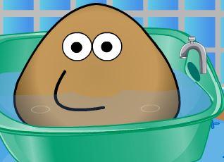 Dar banho no Pou