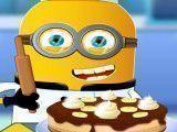 Fazer bolo de banana Minion