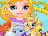 Bebê Barbie cuidar dos animais