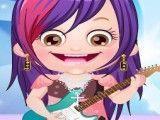 Roupas de rock bebê Hazel