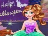 Anna e Elsa decorar Halloween