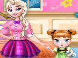 Elsa e Anna bebê decorar quarto